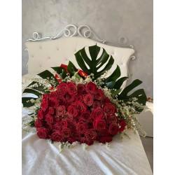Fascio di rose glamour